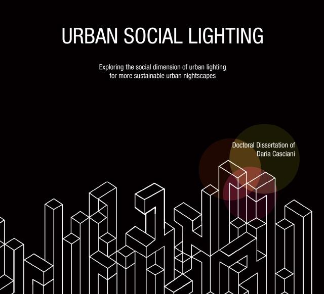 Urban Social Lighting Daria Casciani